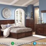 Kamar Set Tempat Tidur Jepara Mewah Minimalis Jati Murah Terbaru MMJ-0002
