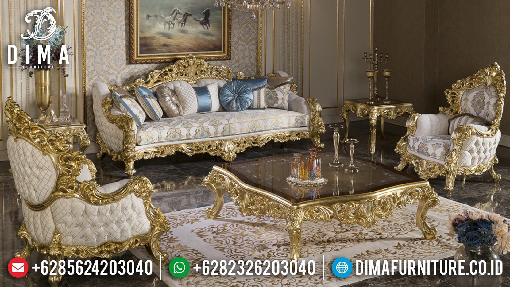 Kursi Ruang Tamu Mewah, Sofa Tamu Mewah Jepara, Sofa Ukiran Jepara MMJ-0044