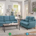 Set Sofa Tamu Jepara Minimalis Modern Terbaru Vintage Style Fabric MMJ-0023