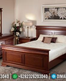 Harga Model Tempat Tidur Jepara Minimalis Jati MMJ-0073