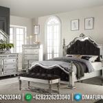 Jual Tempat Tidur Jepara Kamar Set Mewah Silver Duco MMJ-0070