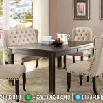 Model Meja Makan Jepara Minimalis Mewah Bisa Untuk Cafe & Restoran MMJ-0045