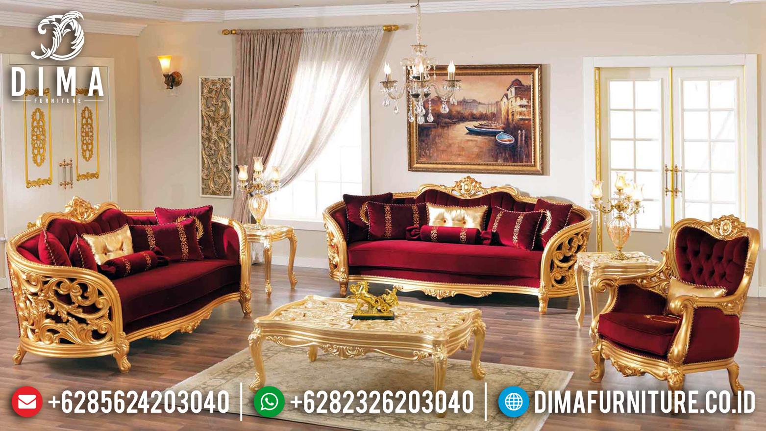 Model Ukiran Turki Sofa Tamu Mewah Jepara MMJ-0108