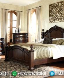 Ranjang Pengantin Tempat Tidur Jepara Minimalis Mewah MMJ-0119