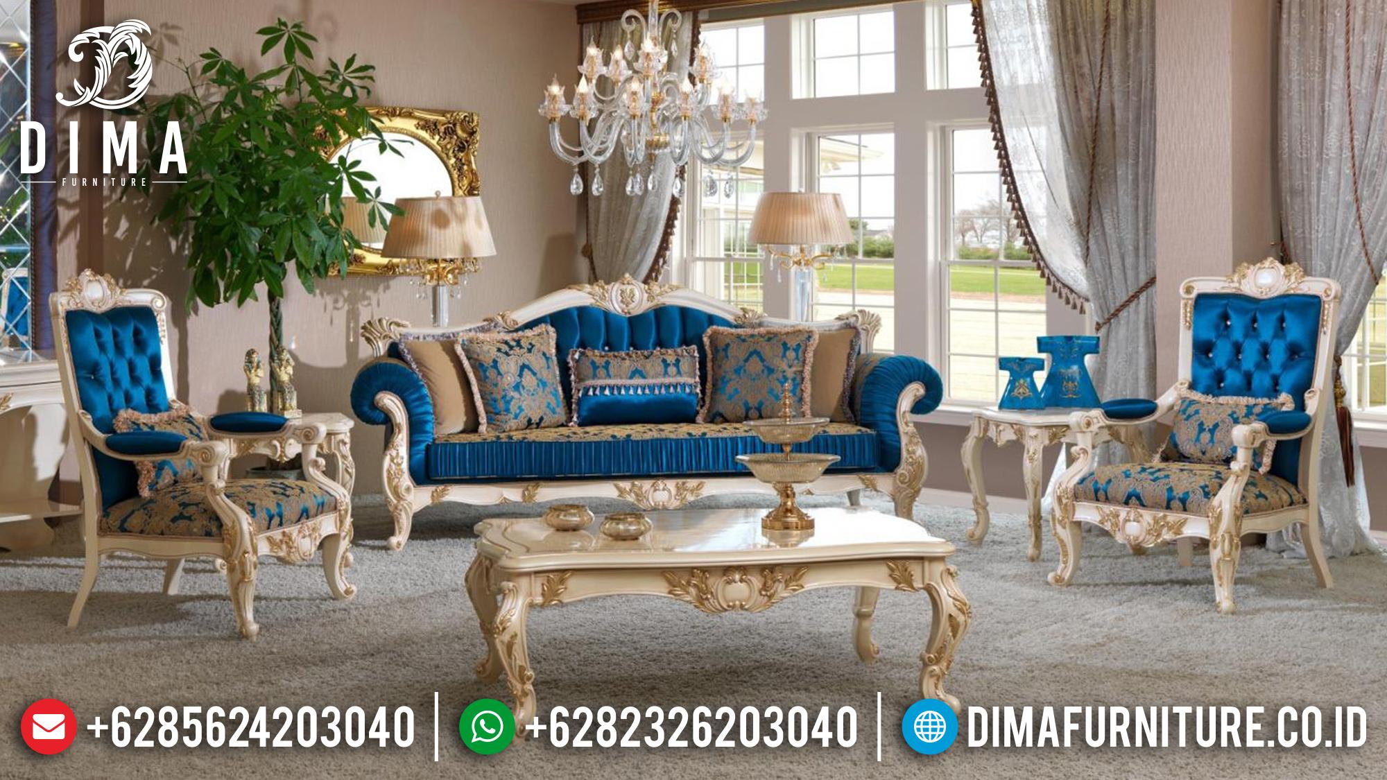 Erciyes Set Sofa Tamu Jepara Ukiran Mewah Duco 3 1 1 MMJ-0142