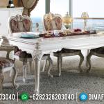 Harga 6 8 Kursi & Meja Makan Jepara Ukiran Mewah MMJ-0140