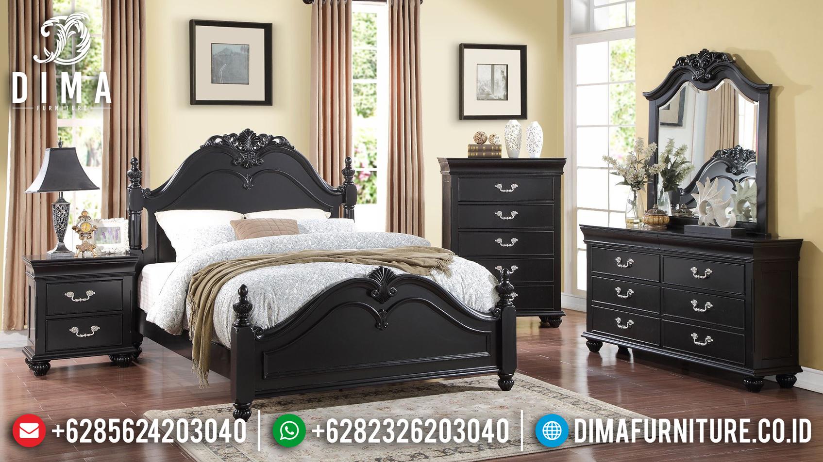 Harga Tempat Tidur Jepara Jati Model Minimalis MMJ-0131