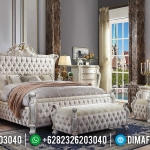 Jual 1 Set Tempat Tidur Mewah Jepara Model Baru MMJ-0164