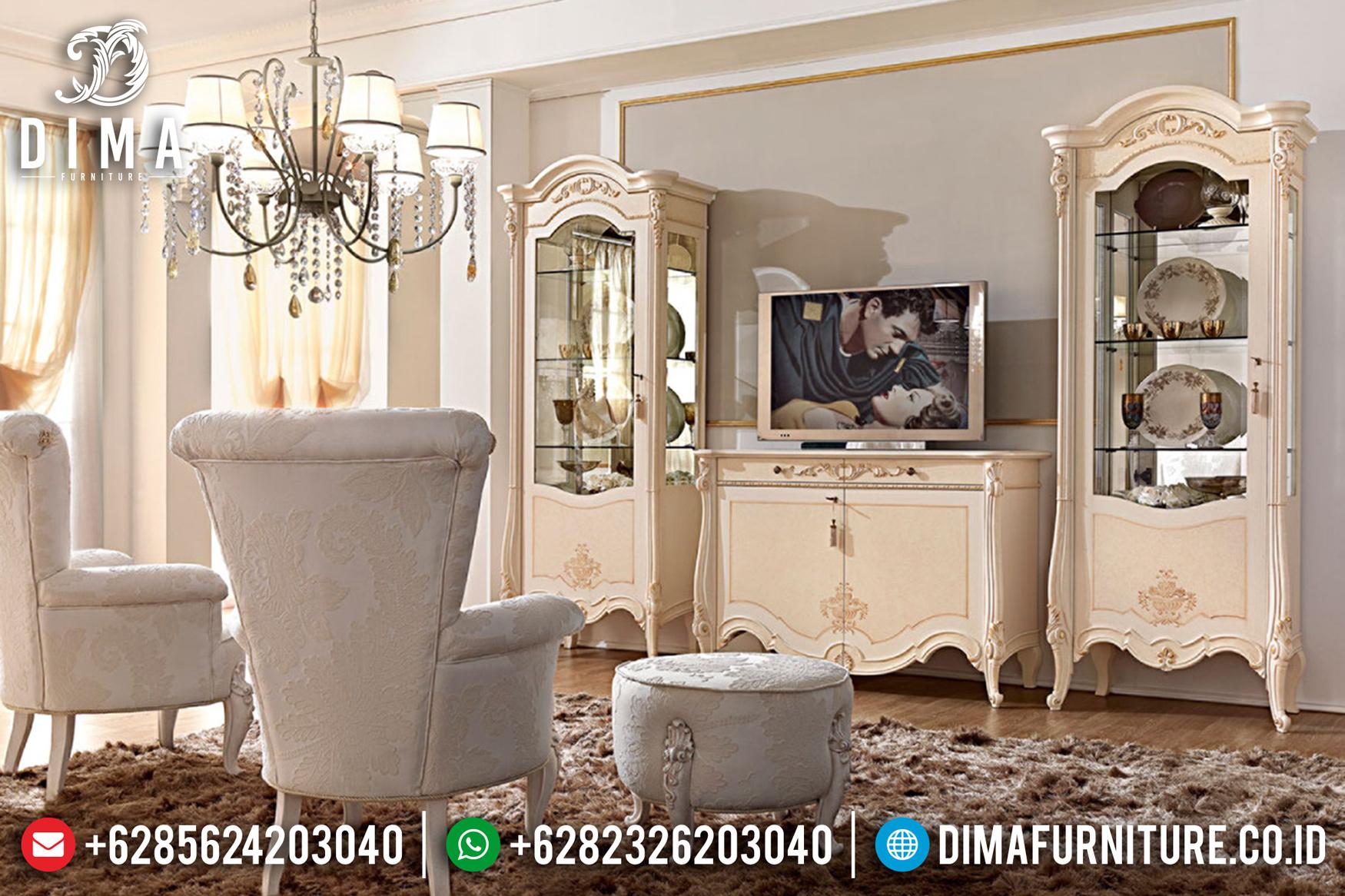 Jual Lemari Hias Bufet TV Jepara Duco Mewah MMJ-0128