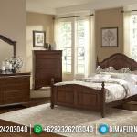 Jual Tempat Tidur Jepara Set Jati Minimalis Natural MMJ-0177