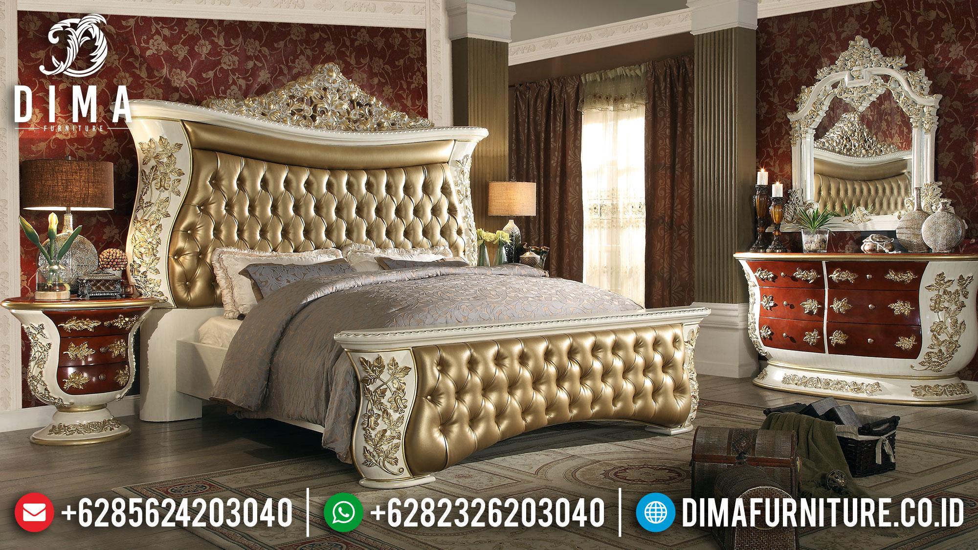 Kamar Set Mewah Ukiran Jepara King Size Luxarious MMJ-0171