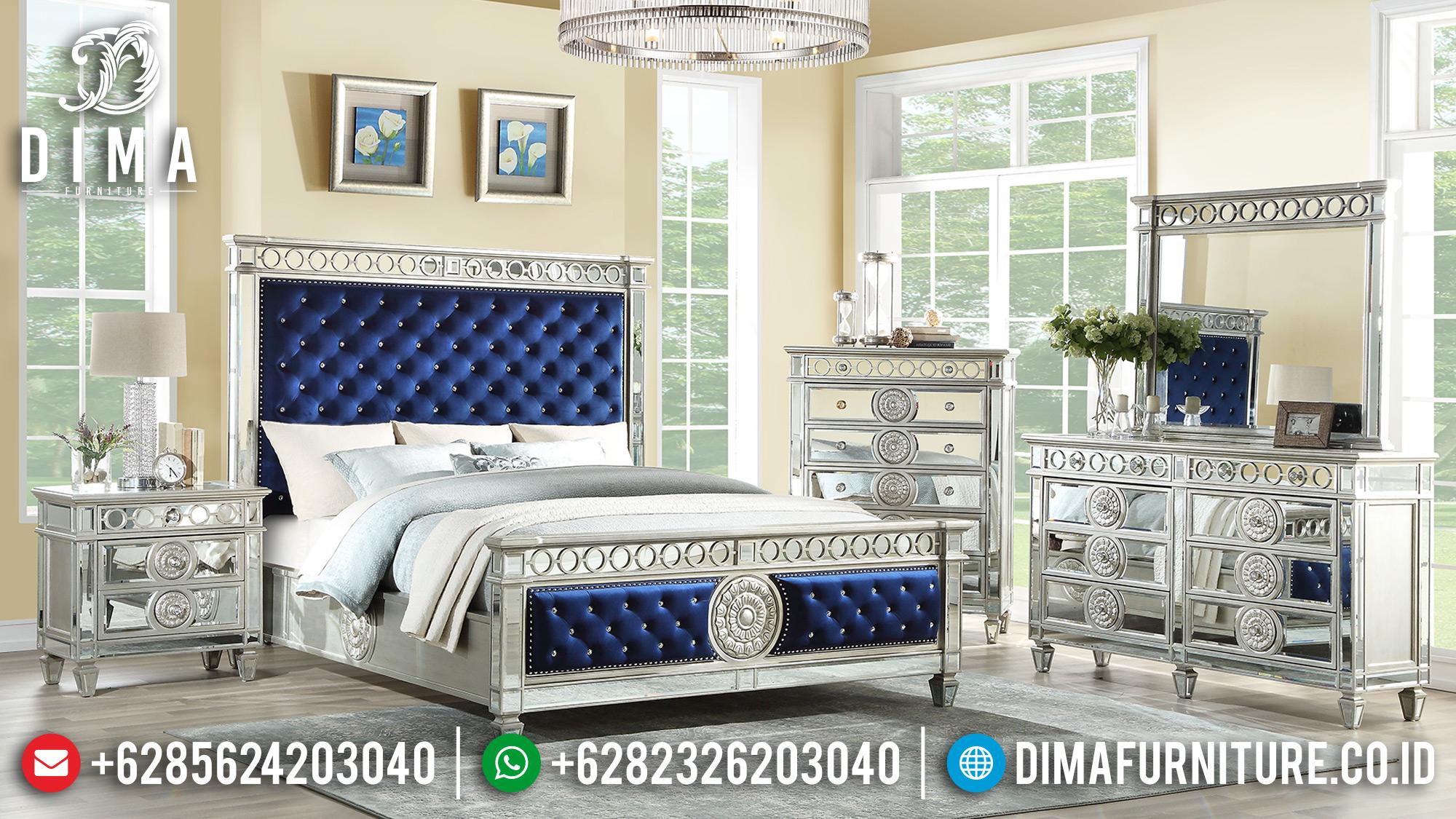 Kamar Set Minimalis Jepara Terbaru Duco Silver MMJ-0178