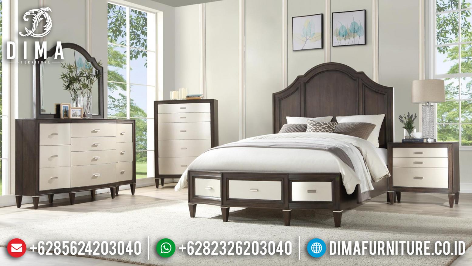 Meja Rias & Tempat Tidur Jepara Minimalis Mewah MMJ-0163