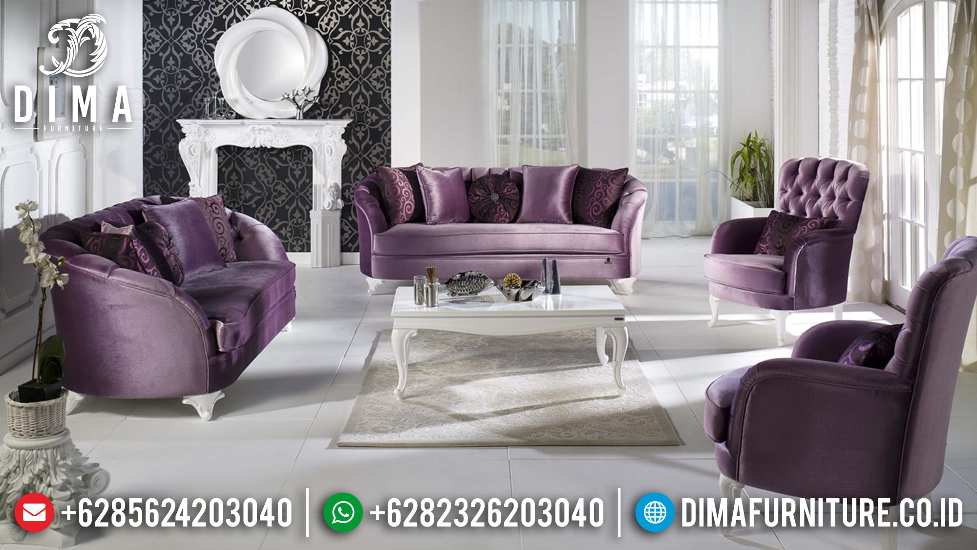 Set Sofa Tamu Jepara Mewah Minimalis Victoria Koltuk 3 2 1 1 MMJ-0125