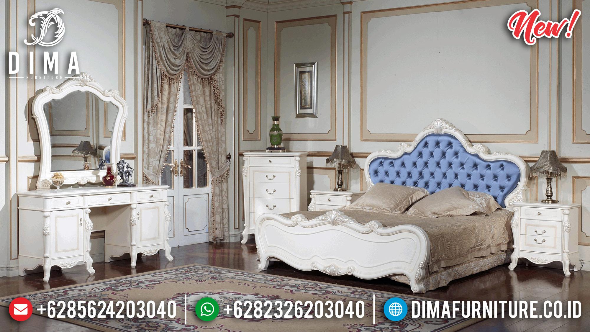 White Pearl Kamar Set Mewah Jepara Models Terbaru MMJ-0230