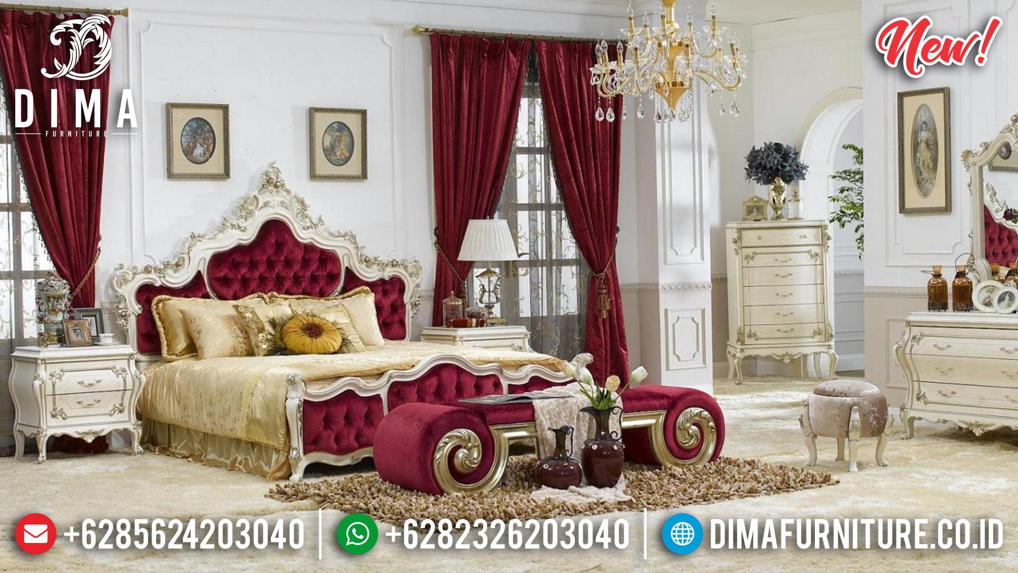 Tempat Tidur Mewah Kamar Set Jepara 2019 Classic MMJ-0234