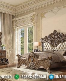 Desain Luxury Kamar Set Mewah Ukiran Konsep Kamar Putri Raja MMJ-0331