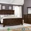 Jual Tempat Tidur Minimalis Natural Jati TPK Perhutani MMJ-0278