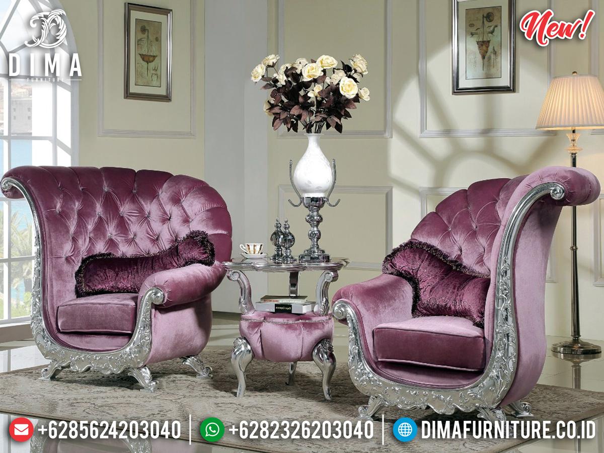 Kursi Teras Coffee Table Interior Design Luxury MMJ-0308