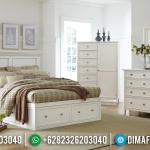 Tempat Tidur Minimalis Modern Model Laci MMJ-0266