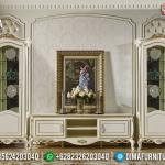 Terbaru Bufet TV Mewah Ukiran Khas Jepara Cat Duco MMJ-0338