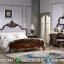 Beli Tempat Tidur Mewah Jati Natural New Desain 2020 MMJ-0360