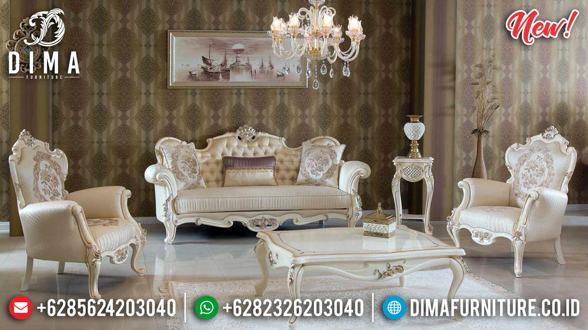 Best Seller Sofa Tamu Mewah 2020 Ukiran Jepara Asli MMJ-0370