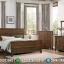 Dipan Jati Minimalis Set Tempat Tidur Jati Jepara New Design Natural MMJ-0378