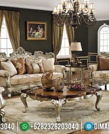 Furniture Jepara Termewah Sofa Tamu Mewah Glorious Silver Champagne MMJ-0392