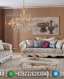 Harga 1 Set Sofa Tamu Mewah Jepara Classic Royals Furniture Jepara MMJ-0368