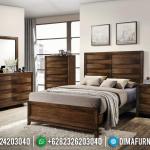 Harga Tempat Tidur Jati Jepara, Dipan Minimalis Salak Natural MMJ-0377