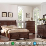 Kamar Set Jati Natural Klasik Rose Wood Color MMJ-0352