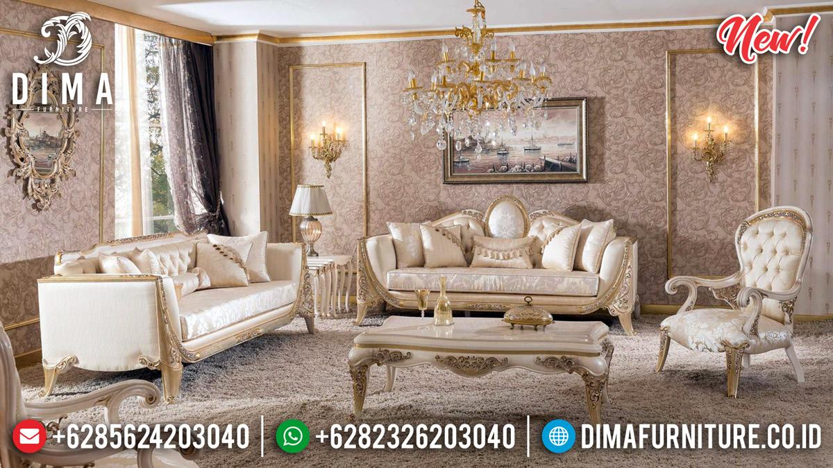 Model Terbaru Sofa Tamu Jepara Cantik, Mewah, Dan Elegan MMJ-0371