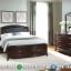 New Set 2020 Tempat Tidur Jati Minimalis Natural Model Laci Besar MMJ-0357