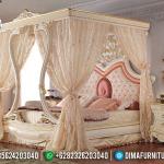 New Tempat Tidur Mewah Valentine Design Canopy Furniture Jepara MMJ-0387