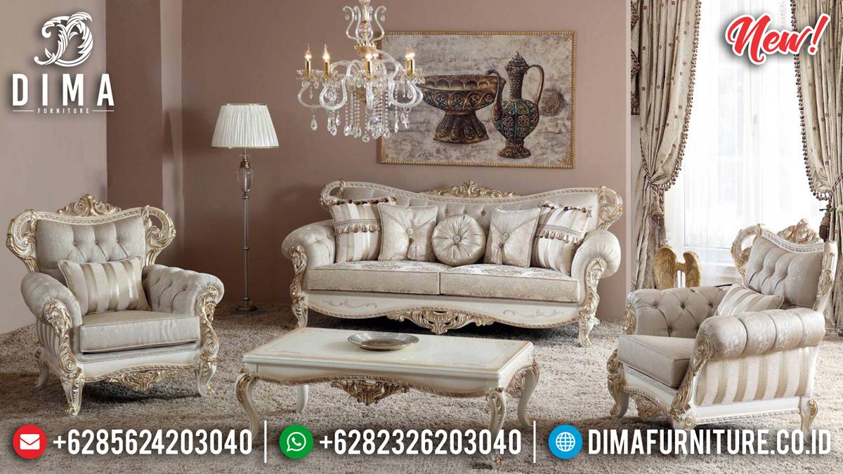 Sofa Tamu Mewah Glorious New Design 2020 Duco Painting MMJ-0366
