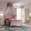 Tempat Tidur Mewah Anak Perempuan Style Luxury Princes Kerajaan MMJ-0365