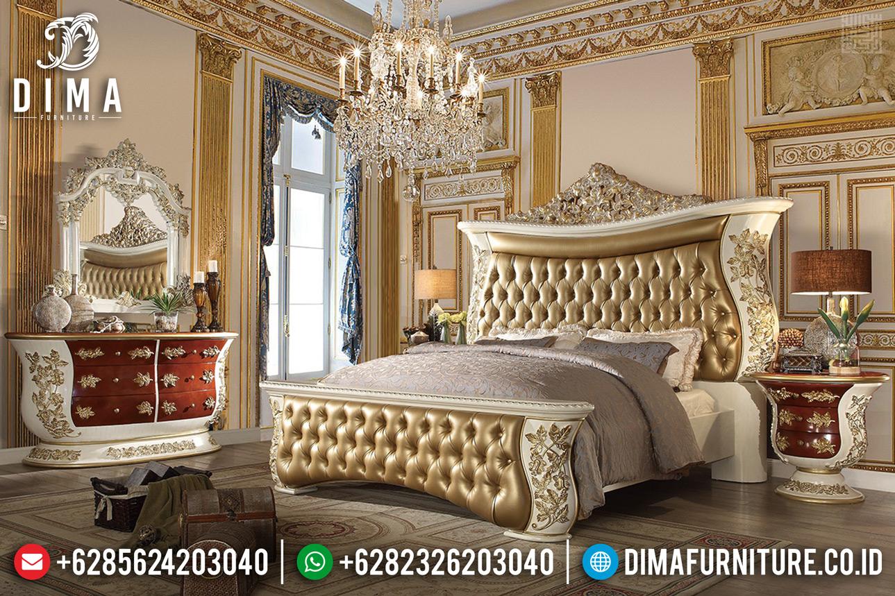 Tempat Tidur Mewah Jepara New 2020 Baroque Carving Style MMJ-0389