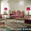 Desain Sofa Tamu Mewah Golden Shining Furniture Jepara Kekinian MMJ-0458