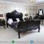 Furniture Luxury Tempat Tidur Mewah Ukiran Duco Black Edition MMJ-0465
