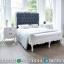 Jual Kamar Set Mewah, Tempat Tidur Ukiran Jepara, Dipan Ranjang Putih Duco MMJ-0463
