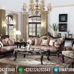 Jual Sofa Tamu Klasik Natural Jati Furniture Jepara MMJ-0452