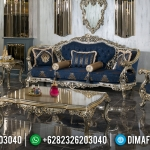 Jual Sofa Tamu Mewah Golden Champagne New Design Luxury Carving Jepara MMJ-0442