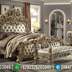 New Item Kamar Set Mewah Ukiran Classic Luxury Royal Furniture Jepara MMJ-0436
