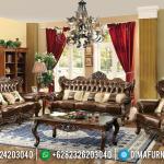 New Sofa Tamu Mewah Jati Catalan Furniture Jepara Luxury Classic MMJ-0420