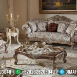 New Sofa Tamu Mewah Royal Foam Furniture Jepara Terbaik MMJ-0468