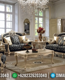Set 3 2 1 Sofa Tamu Mewah Ukiran Khas Jepara Luxury Classic MMJ-0476
