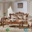 Set Sofa Tamu Jepara Royal Foam Natural Luxury Classic MMJ-0474
