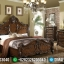 Tempat Tidur Mewah Jati Natural Classic Furniture Jepara Luxury MMJ-0447