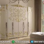 Desain Lemari Pakaian Mewah Room Vanity Luxury Carving Jepara MMJ-0527